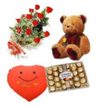 12 Rose Bouquet Gift Pack 173
