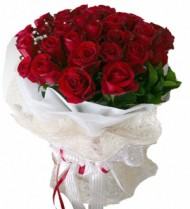 24 Red Roses Bouquet 72