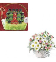 Flowers & Health Basket For Mum 67
