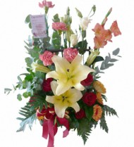Lilies Surprise Basket 74