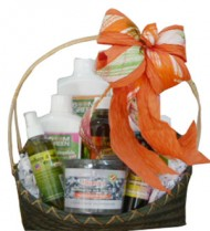 Organic Cleaning and Home Product Gift Basket