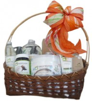 Organic Coconut Body Spa Gift Basket