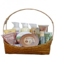 Organic Body Care Mega Basket